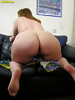 Old obese hooker sucking and playing