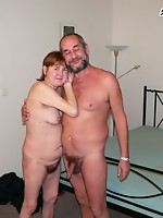 Hawt old sexcouple having freaky enjoyment