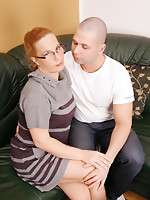 Wicked housewife getting down and immodest with her lover
