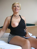 Sexually excited big titted Teresa can't live out of showing u her enjoyment box