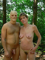 Concupiscent mature slut taken in the forest by a masked chap